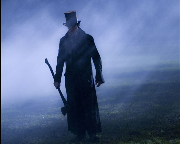 "Honest Abe slaughters every bloodsucking, pale hide in ""Abraham Lincoln, Vampire Hunter"""