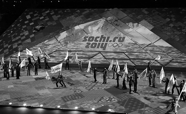 Russia Sochi One Year Countdown