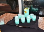 The Big Kablue-na, a popular blue pina colada served at Hard Rock.