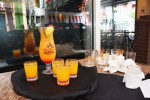 The Hurricane, a mango flavored offering with Disaronno.