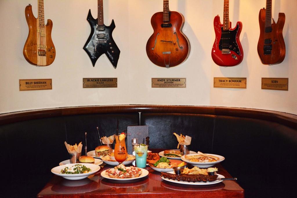 Hard Rock Cafe Louisville Menu