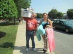 Taylor Bowling and her father move into Kurz Hall