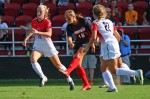 Senior forward Erin Yenney brings much needed experience to Louisville's young women's team.