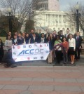 Representatives from ACC schools visited Washington D.C. March 16 and 17.