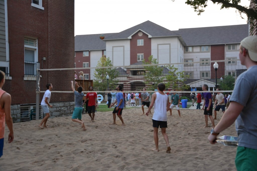 Fraternity Volleyball 2015
