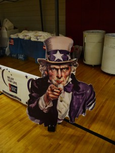 Uncle Sam wants you to help in the fight against cancer