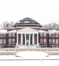 Grawemeyer Hall coated in Snow  Photo by Madison Wurth