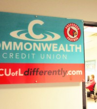 U of L's new credit union partner Commonwealth Credit Union opened a minibranch in the SAC this week. Photo by Sarah Rohleder