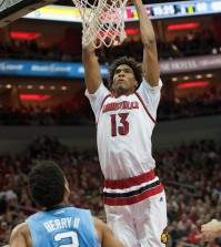 Ray Spalding gave Louisville a big lift off the bench.