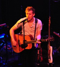 Anderson East performing at Headliners Music Hall in Louisville Kentucky