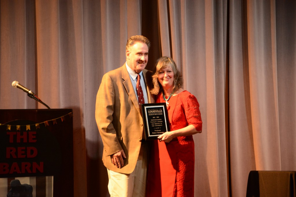 The A&S Distinguished Faculty Award for Service to the University went to Dr. Robert Buchanan. Photo by Rachel Knue.