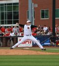 Kyle Funkhouser went eight innings with six strikeouts against Western Michigan.