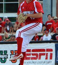 Zack Burdi throws in the eighth inning.