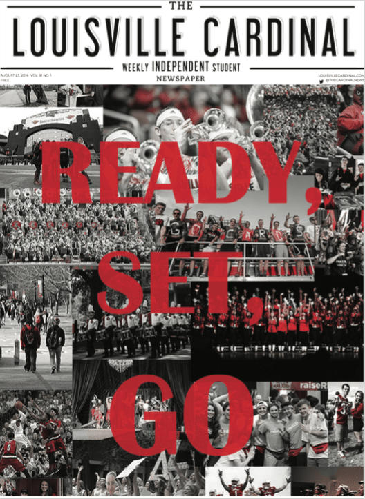 The Louisville Cardinal, August 23, 2016 Issue