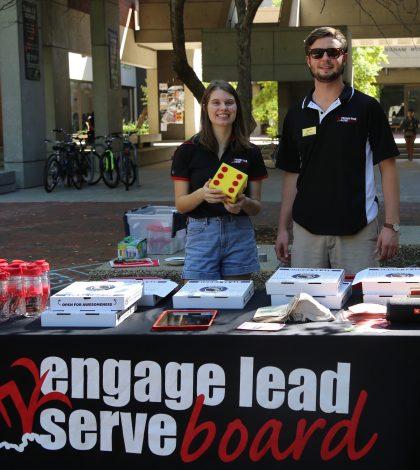 Engage Lead Serve Board directors, Natalie Shields and Mike Venard.