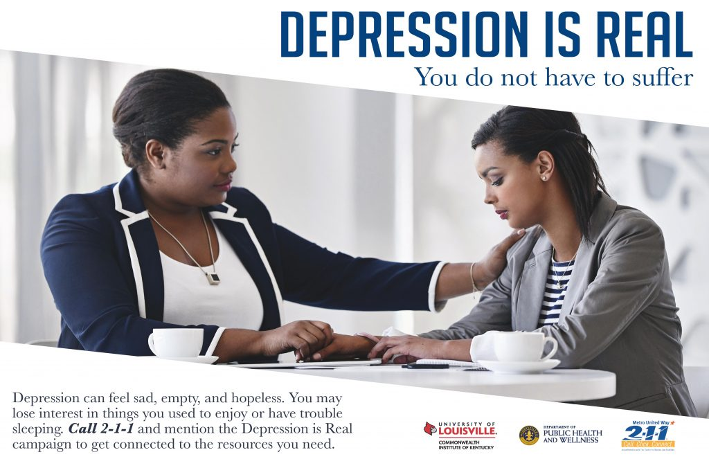 """The Depression is Real"" Campaign ad"