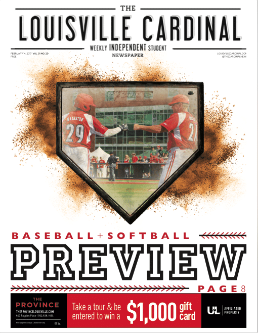 Baseball Preview, The Louisville Cardinal February 14, 2017 Issue