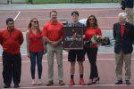 Duke spoils senior day for men's tennis
