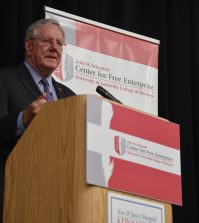 Steve Forbes, John Schnatter Center for Free Enterprise