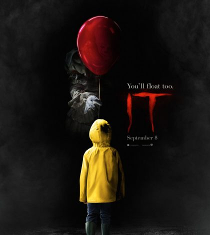 It Poster, movie, horror, scary