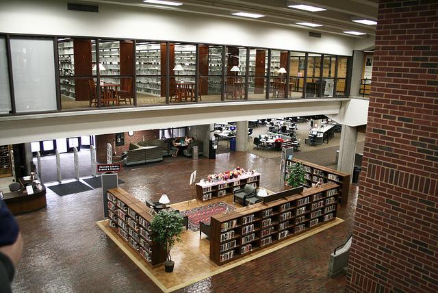 Ekstrom Library.