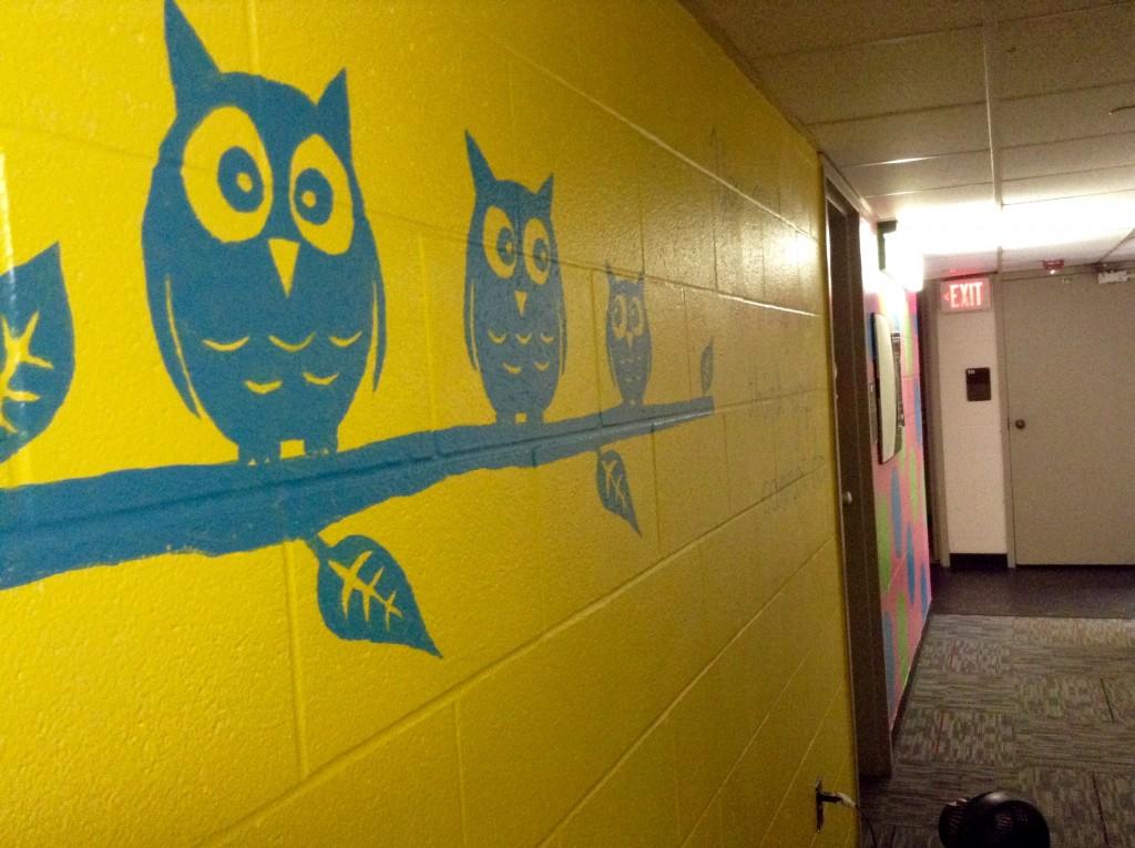 Center Hall hallway