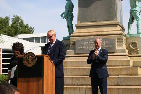 President James Ramsey & Confederate Statue