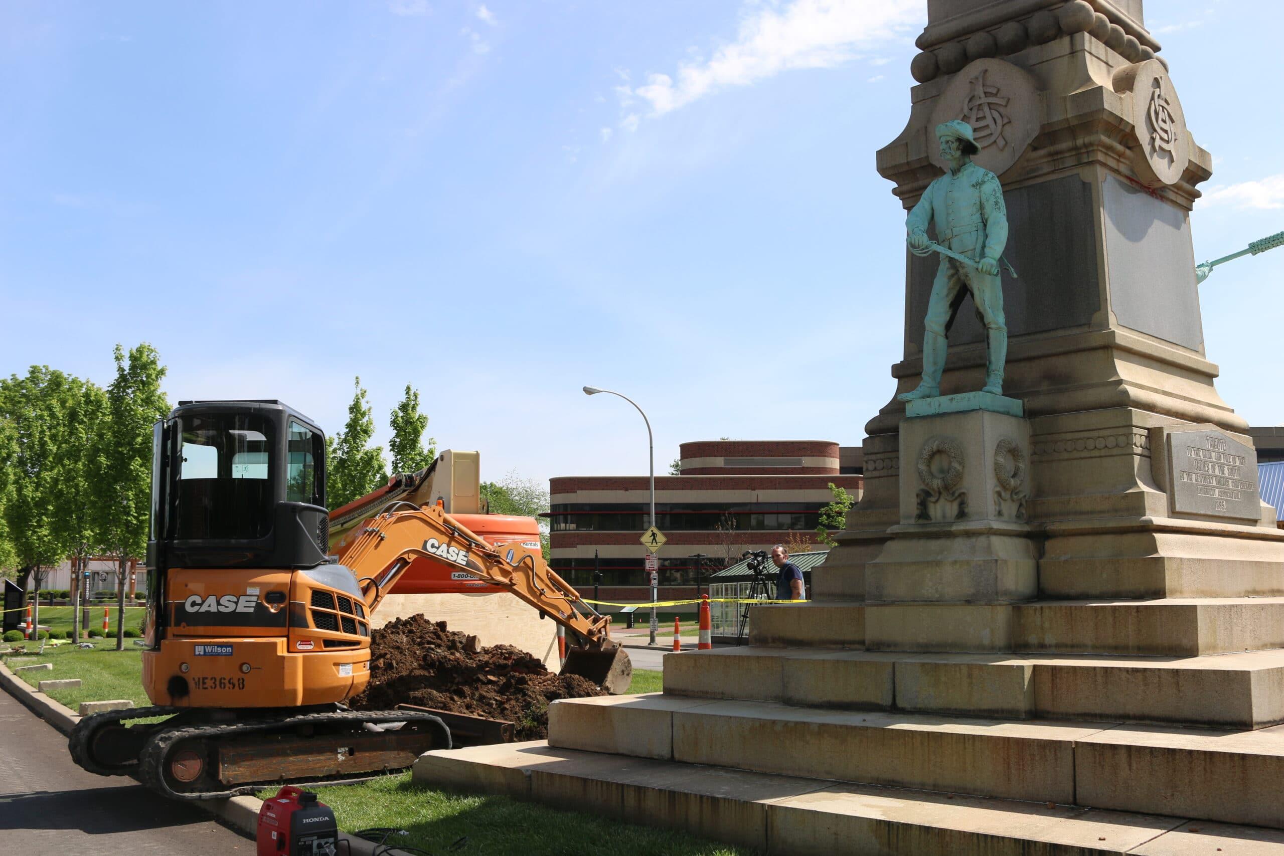 Confederate statue UofL