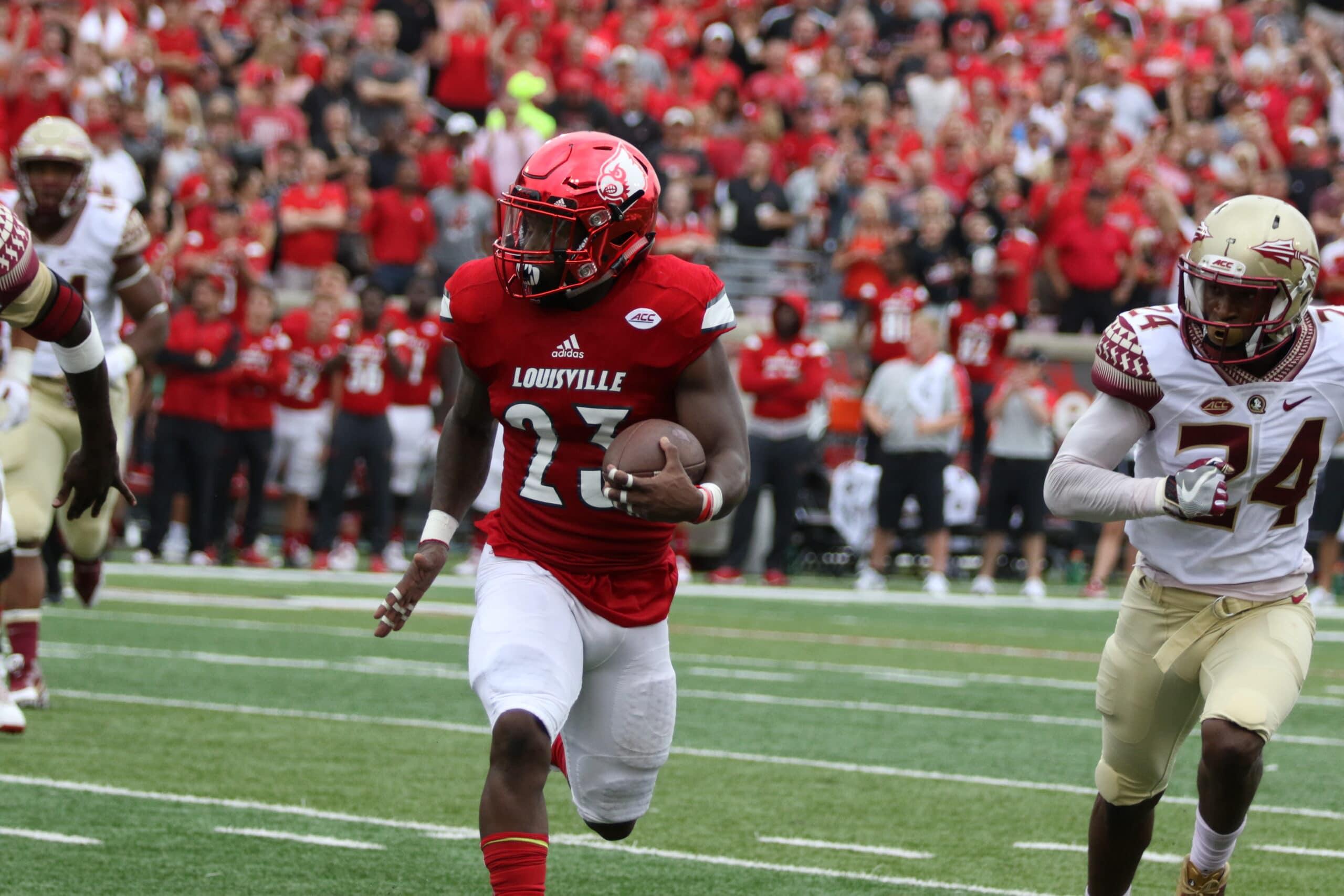 Meet the Athlete: Brandon Radcliff • The Louisville Cardinal