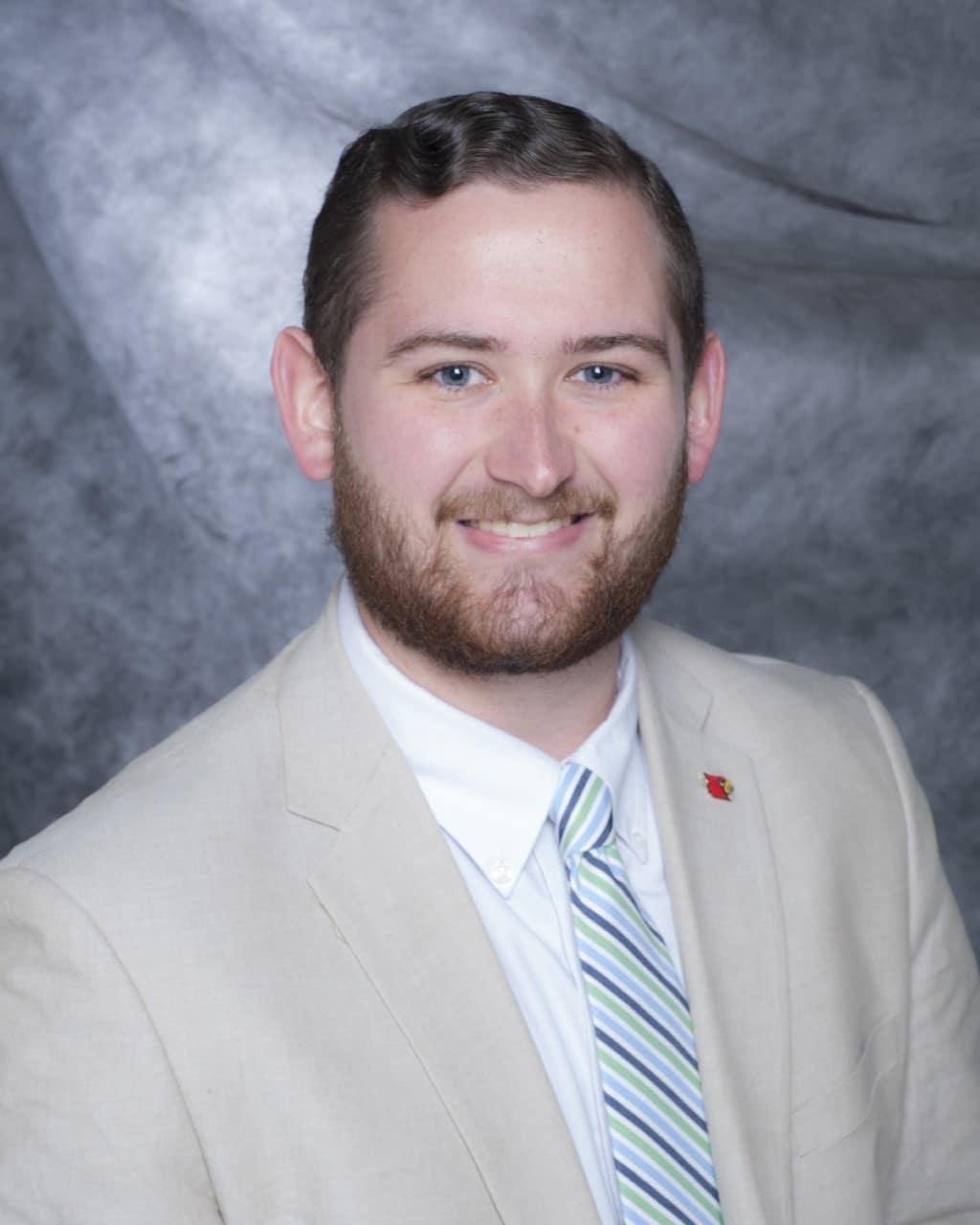 SGA President Aaron Vance