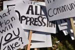 Students protest hate speech on campus