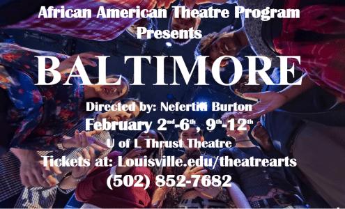 baltimore, theater