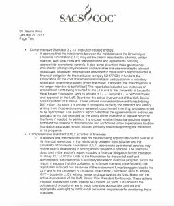 SACS letter pg. 2