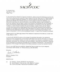 SACS letter pg. 3