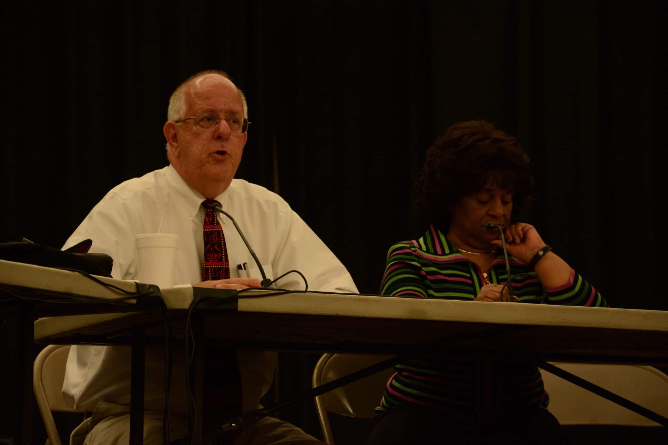 Interim Provost Dale Billingsley, 2020 plan, forum
