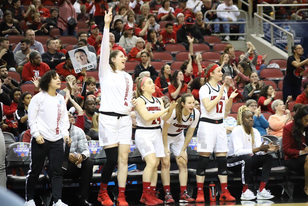 Women's basketball reaches third consecutive Sweet 16 • The Louisville Cardinal