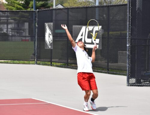 U of L men's tennis falls 4-1 to No. 5 Virginia on Senior Day