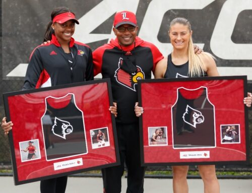 U of L women's tennis celebrates Senior Day with 6-1 win over Butler