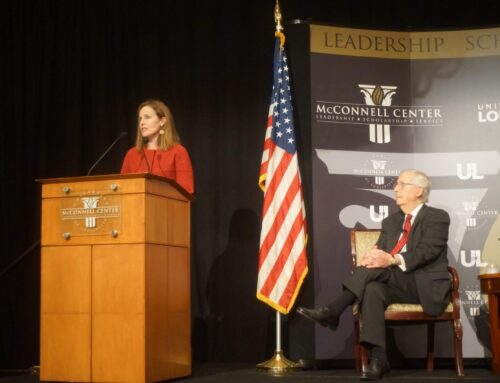 McConnell Center hosts Supreme Court Justice Amy Coney Barrett