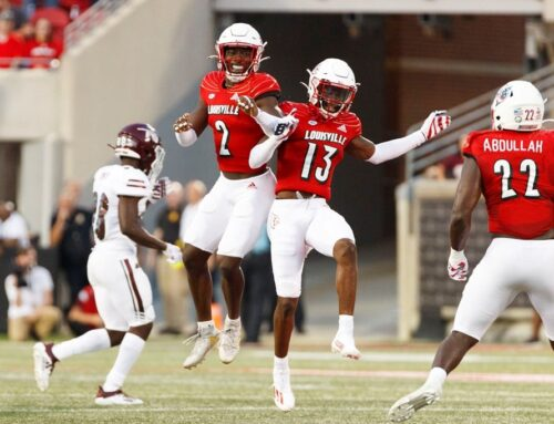 U of L Football Defeats EKU At First Home Game