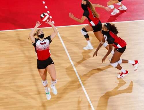 Women's Volleyball Took Down Kentucky This Week In Top Ranked Matchup