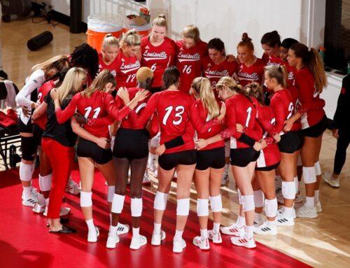 Louisville Volleyball Sweeps Clemson 3-0