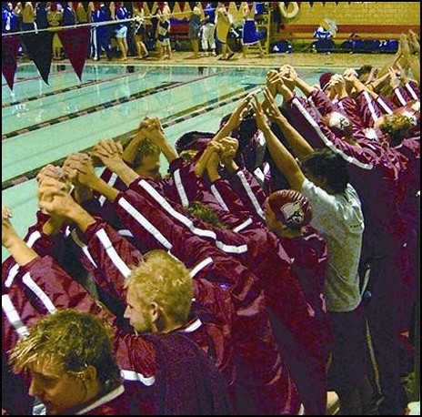 Swimmers say goodbye to crawford pool the louisville - University of louisville swimming pool ...